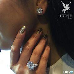 Like the diamonds like me? Try this classic diamond stud earrings by  @karensuenfinejewellery! Go ahead and get that big diamond ring too. That is some serious blings if I do say so myself! Via @the_diamonds_girl #purplebyanki #diamonds #luxury #loveit #jewelry #jewelrygram #jewelrydesigner #love #jewelrydesign #finejewelry #luxurylifestyle #instagood #follow #instadaily #lovely #me #beautiful #loveofmylife #dubai #dubaifashion #dubailife #mydubai #earrings