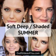 Shaded Summer (Soft Summer Deep) - Seasonal Color Analysis