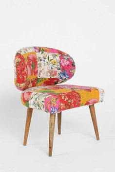 Urban Outfitters Fleur Patchwork Quilt   Magical Thinking Modern Patchwork Chair - Urban Outfitters