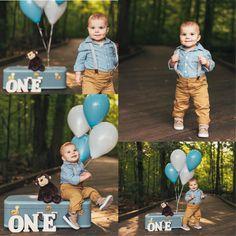 One year old boy photo idea 1st Birthday Photoshoot, Baby Boy 1st Birthday Party, One Year Birthday, Boy Birthday Pictures, Baby Boy Pictures, One Year Pictures, First Birthday Photography, Baby Boy Photography, Bebe 1 An