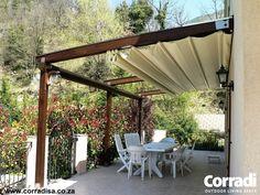 Corradi SA | Patio Awnings | Pergolas | Patio Furniture - Pergolas - Pergotenda® 45-60