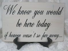 For those in heaven