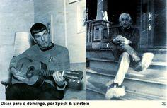 Dicas para o domingo, por Spock & Einstein | Casa da Traça