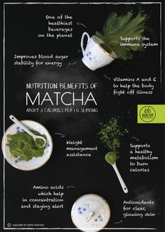 Health Benefits of Matcha! https://healthytokyo.com/blog/health-benefits-of-matcha/