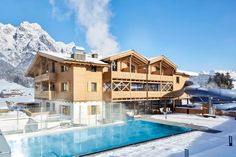 Adventangebot: Genießerhotel Riederalm - The Chill Report Gala Dinner, Austria, Europe, Mansions, House Styles, Winter, Double Room, Mansion Houses, Villas