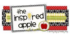 The Inspired Apple--fantastic activities for first grade teachers :) LOVE her math ideas! Teacher Sites, Teacher Tools, Teacher Resources, Teacher Stuff, First Grade Blogs, First Grade Teachers, Math In Focus, Kindergarten Blogs, Preschool Lessons