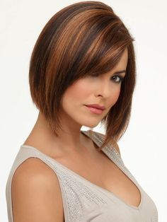 Lace Front Straight Auburn Chin Length Most Realistic Synthetic Wigs Medium Hair Cuts, Short Hair Cuts For Women, Medium Hair Styles, Short Hair Styles, Trending Hairstyles, Bob Hairstyles, Straight Hairstyles, Latest Short Haircuts, Layered Haircuts