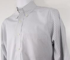 Men Brooks Brothers Dress Shirt Classic Fit Supima Cotton Non Iron 15 1/2 X 32 #BrooksBrothers