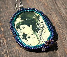 Amy Winehouse necklace Pop star Necklace Music by Doreeenka Music Jewelry, Star Jewelry, Gifts For Women, Gifts For Her, Handmade Jewelry, Unique Jewelry, Handmade Gifts, Music Gifts, Amy Winehouse