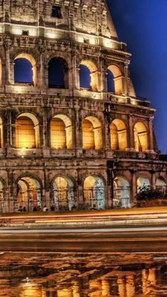The Colosseum,  Rome, Italy**.