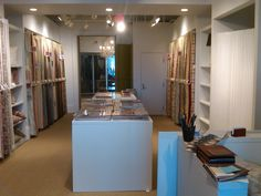 our finished fabric showroom!