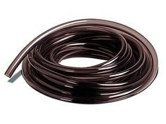 "Vinyl Tubing - 3/4"" - 5' by Alpine. $3.75. Flexible and kink resistant. UV resistant, black color makes it easy to hide and restricts sunlight to reduce algae growth inside the tubing. Fish safe"