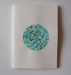 Beautiful A6 (approximately 5.5 x 4 inches) hand painted and handmade bookbinding sketchbooks. Theyre painted with winsor and newton cotman