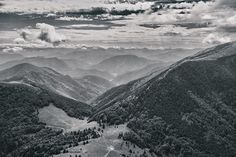 view from Grand Rozsutec to Medzirozsutce seat Fujifilm, Trees, Clouds, Mountains, Nature, Photos, Outdoor, Instagram, Outdoors