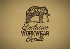 Kaporal by bmd design by BMD Design , via Behance