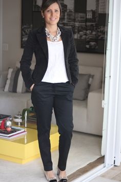 56 trendy ideas for womens fashion for work offices casual interview outfits Work Casual, Casual Chic, Casual Looks, Office Outfits, Casual Outfits, Fashion Outfits, Fashion Ideas, Office Fashion, Work Fashion