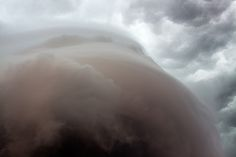 Arcus underside | The underside of an arcus cloud in southcentral Nebraska. Photography by Ryan McGinnis