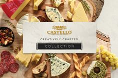 Creatively Crafted Collection Cheeseboards | Castello Canada