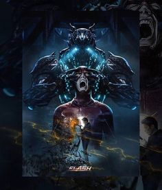 grantgust: Flash is finally back tonight. I think. It's Tuesday, right? If it's Tuesday, then we're back. Here is some incredible work that @bosslogic logic released recently. He always captures the heart of the story with a stunning visual. Nailed it again.
