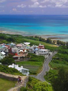 Okinawa, green and blue through the eyes of stargazer