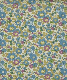 Betsy Ann D Tana Lawn from the Liberty Art Fabrics collection