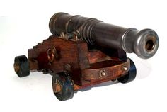 No one will commandeer your wedding with these cannons on display #aawep #shipsahoy #wedpin
