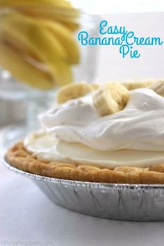 Easy Banana Cream Pi