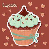 Výsledek obrázku pro muffiny kreslené Desserts, Food, Tailgate Desserts, Deserts, Essen, Postres, Meals, Dessert, Yemek