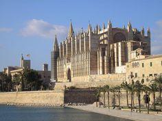 パルマの大聖堂。スペイン。 Palma de Mallorca Cathedral, Spain.