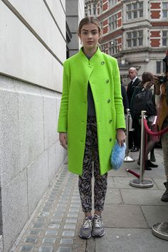 Oh Mundo Cruel! » Street Style: London Fashion Week Fall 2013