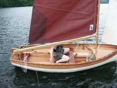 Broken inwales on a sailing dinghy from Fyne Boat Kits