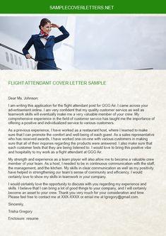 flight attendant example resume flying flight attendants pinterest