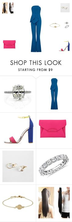 """Sem título #1467"" by crepusculo55 ❤ liked on Polyvore featuring MABEL, Charlotte Russe, Givenchy and Blue Nile"