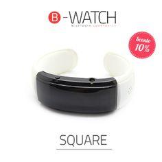 B-Watch Square White