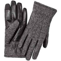 Herringbone Smart Touch Gloves - The Ultimate Style Gift Guide for Guys Under… Wool Gloves, Leather Gloves, Leather Men, Dapper Gentleman, Gentleman Style, Best Gloves, Well Dressed Men, Herringbone, Women Accessories