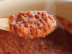 Arrabiata (Spicy Spagetti) Sauce recipe from Pioneer Woman, Ree Drummond via Food Network