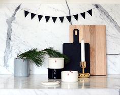 iittala Purnukka jars styled by Anu of Nalle's House. Marimekko Fabric, Craftsman, Jars, Giveaway, Concrete, Box, Winter, Projects, Handmade