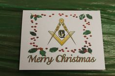 Masonic Christmas Square and Compass by OlsenEnterprises on Etsy, $10.00