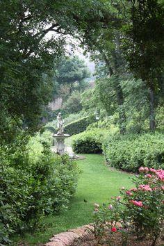 Italian Garden. Magical landscaping.