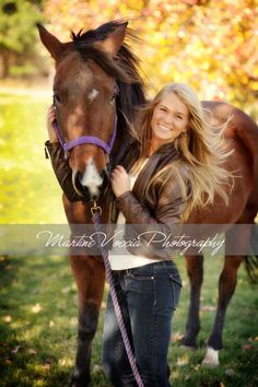 .senior pics idea.... if only i had a horse                                                                                                                                                                                 More
