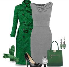 """Olivia Pope inspired """"Green with Envy"""""""