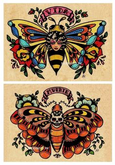 Bee tattoo idea