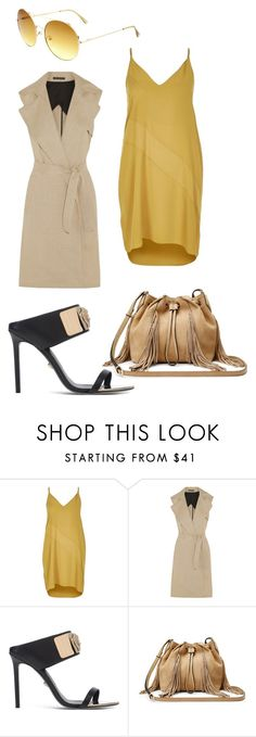 """""""Work wear 2"""" by xeebae on Polyvore featuring River Island, Theory, Versace and Diane Von Furstenberg"""