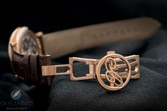 Did you ever buy a watch for the buckle? The gorgeous deployant of Breguet's Reference 7727