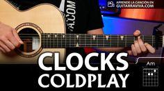 Clocks acordes para guitarra