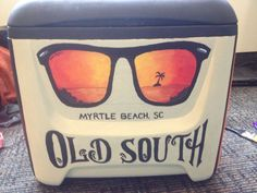 we've got your summer essentials. pick a right pair to match your style. Fraternity Coolers, Frat Coolers, Formal Cooler Ideas, Cooler Connection, Bubba Keg, Southern Sweet Tea, Coolest Cooler, Cooler Designs, Cooler Painting