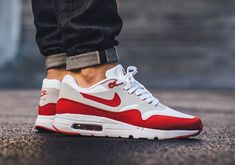 ff5a1dc13c7 Nike Air Max 1 OG Ultra Sport Red Sneakers Nike