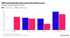 IMF Cuts South Africa's Economic Growth Forecast by Almost Half