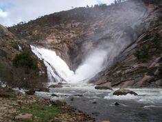 La cascada de Ezaro (A Coruña)