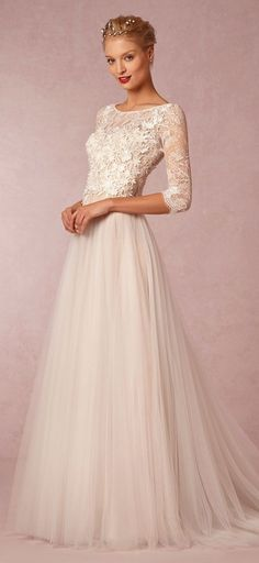 Absolutely beautiful http://www.theperfectpalette.com/2015/03/shop-look-wedding-pretties-by-bhldn.html